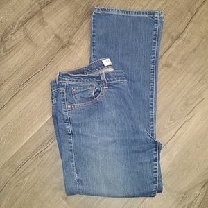 Levis 515 bootcut distressed